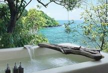 Bathroom / Bohemian inspired bathroom décor, photos & ideas!  / by ☾☼✧ G Y P S Y ☮ L O L I T A ✧☼☽