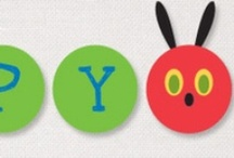 Hungry caterpillar party / Personalised stationery and party supplies for a Hungry Caterpillar party