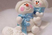 Holiday - Snowmen / by Brenda Hahn