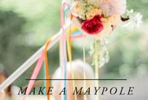 beltane crafts / crafts for beltane • things that you can make for may day • simple and easy