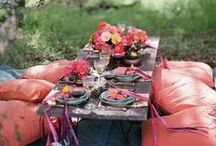 perfect picnics / The perfect picnic - setting, food, edibles and drinks...