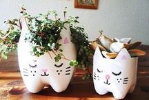 recycling week ideas / getting creative with recycled objects • up cycling • craft inspiration