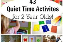 Toddler | Activities / Activities to Stimulate, Educate and Busy Your Toddler.