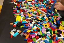 TRANSPORTATION LEGO LESSON PLAN / This is an integrated Language Arts lesson plan using Legos. The plan is about building transportation vehicles and making them wheelchair accessible using Legos, writing and listening skills, and creative thinking.