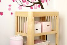 Potty & Change Table Accessories / Pottys, organic and baby-safe wipes, diaper bins and liners