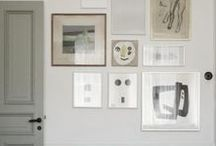picture framed walls