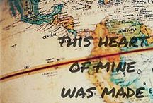 For My Love of Maps & Globes / by Liz Bongiovanni Piccione-Volger