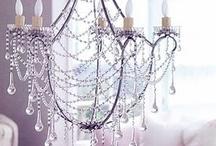 chandeliers / by Linda Rowley