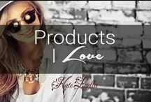 KATE: Products I Love / This is a board of things I love, mainly products...