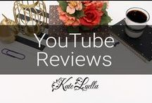SOCIAL: My YouTube Reviews