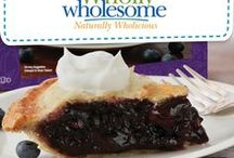 Pie Love You! / Dessert is a fun item to make but sometimes the thought of making pastry from scratch is too much for busy lifestyles. We have the perfect solution – use Wholly Wholesome Organic Pie shells as your dessert base (or top!) and get creative with your fillings and toppings.
