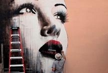 Street Art / Thanks for following! https://www.facebook.com/tatiossaphotography  / by Tati Ossa
