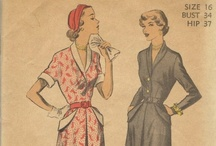 Vintage Sewing Patterns / by Lauren Wayman