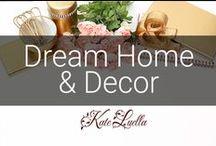 HOME: Dream home & decor / Gorgeous home decor and more...