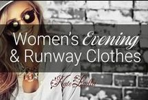 KATE: Women's Evening & Runway Fashion Clothes / gorgeous beautiful fashion for the special occasions, weddings, parties, events, dinner parties...