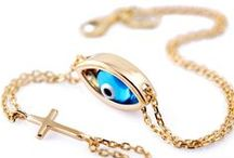 Evil Eye Bracelet / Gold or Silver Evil Eye Bracelets