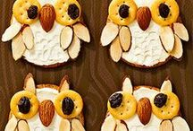 Fun Food for Kids / PLAY with your food! Did you know fun, nutritious, even entertaining meals expand a child's taste for healthy food while also building cognitive, social, emotional and motor skills? Here's a collections of some of our favorite pins... Be creative and have FUN! #fingerfoods #playwithyourfood #kids #FoodArt / by Young America