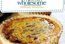 Wholly Wholesome Savory Recipes! / From Quiche Lorraine to Chicken Pot Pie, here's your one stop shop for delicious Wholly Wholesome inspired meals!
