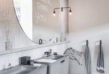 Bathroom inspiration / Beautifull bathrooms
