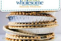 I Spy Wholly Wholesome Pie Recipes! / I spy a Wholly Wholesome pie! Take the trouble out of baking by starting with our ready-to-bake pie shells and pie crusts!