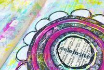 Fast Forward Art - Watch the Process / Sharing my creative process with you in fast forward. Art journaling, mixed media, and more.