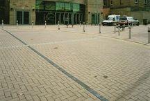 Tescina textured block paving