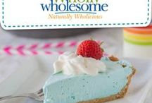 Summer Sweets / Great no-bake, summer fun pies and desserts that are gluten free and allergen friendly with Wholly Wholesome!