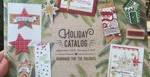 2016 Holiday Catalog / Holiday Catalog items available September 1, 2016 - December 31, 2016 Christmas, Thanksgiving, Halloween and other fall/autumn holiday and seasonal projects