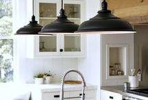Kitchen Lighting / Vintage Industrial Kitchen