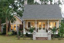 Home Exteriors / by Sally Jones