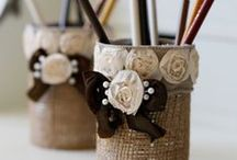 CRAFTS/INSPIRATION TO BE CREATIVE / by Leslie Tancosh