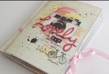Mini Albums and Smash Books / by Shelly Bailey