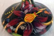 Art Pottery / Beautiful Art & Crafts Pottery especially Moorcroft Pottery from Stoke on Trent, England / by Roxanne Reynolds-Lair