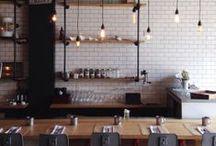 Cafés & restaurants - Vintage Industrial Style / Vintage Industrial style cafe and restaurants