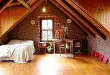 Craftsman Bungalow Attic Renovation ideas / Searching for ideas that will work for our bungalow attic. In the process, finding other attics that I like / by Roxanne Reynolds-Lair