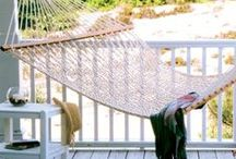 Hanging Around the Yard / Porchswings, Hammocks, and Hanging Chairs from Frontera Furniture. Brands include Pawley's Island and Hatteras, both leaders in the industry. / by Frontera Furniture