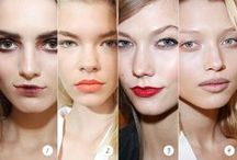 Runway Beauty Inspiration / See the hair and makeup straight from the fashion designers' runways.