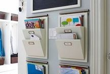 Organized Office / Get your office organized with these office organizing tips & tricks! / by Cassie Howard (MrsJanuary.com)