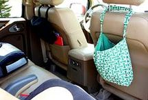 Organized Vehicle / Get your vehicle organized with these vehicle organizing tips & tricks! / by Cassie Howard (MrsJanuary.com)