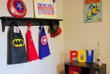 Superhero room for the boys / by April Garvin