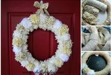 Doors/Wreaths / by Shelly Bailey