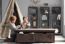 Kids Room - Vintage Industrial / Kids / Children's vintage industrial bedroom