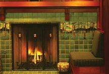 Craftsman fireplaces / by Roxanne Reynolds-Lair