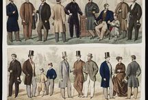 Men's Style though the years / Men  - their fashion, their look throughout history / by Roxanne Reynolds-Lair