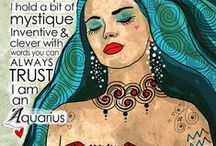 Aquarius /                                ~The Water Bearer~  That's Me!  / by Dee Soto
