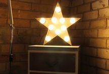 Vintage Marquee Lights / Modern take on the Vintage Marquee Lights