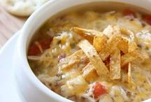 Soups, Stews and Chili Recipes / by Deanne