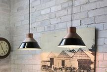 Copper Inspiration - Vintage & Industrial / Inspiring copper pendant lights & more in home decor with vintage & industrial flavour.