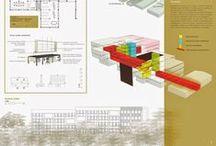 Presentation Boards / Plafones arquitectónicos. Presentaciones