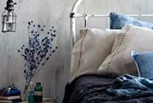 Blue - Vintage Industrial Interiors / Inspiring Vintage Industrial Interiors with a blue colour palette or blue colour accents.